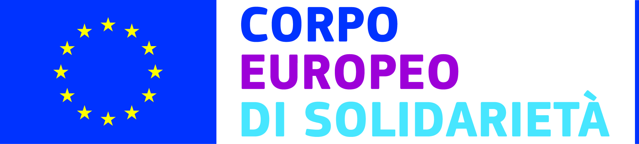 IT european solidarity corps LOGO CMYK